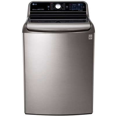 LG ENERGY STAR®  5.7 cu. ft. Mega Capacity Top-Load Washer with Turbowash™ Technology