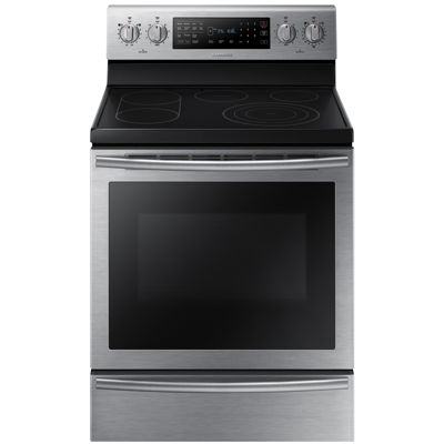 Samsung 5.9 cu. ft. Free-Standing Electric Range with True Convection and Soft Close Door