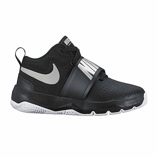 c9f577e274547 Nike Team Hustle D Boys Basketball Shoes Little Kids JCPenney