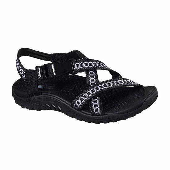 Skechers Womens Reggae Kooky Strap Sandals