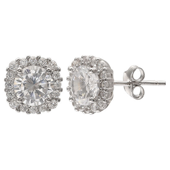 Silver Treasures 10mm Stud Earrings