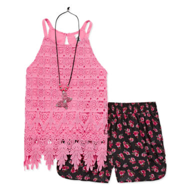 Knit Works Short Set Big Kid