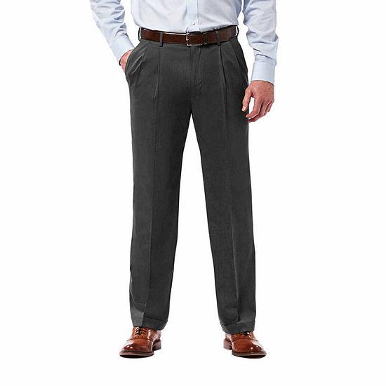Haggar® Premium Stretch Classic Fit  Pleated Pant