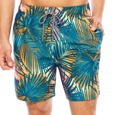 "Arizona Palm Leaf Print Volley 6.5"""