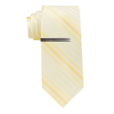 JF J.Ferrar Stripe Tie XL