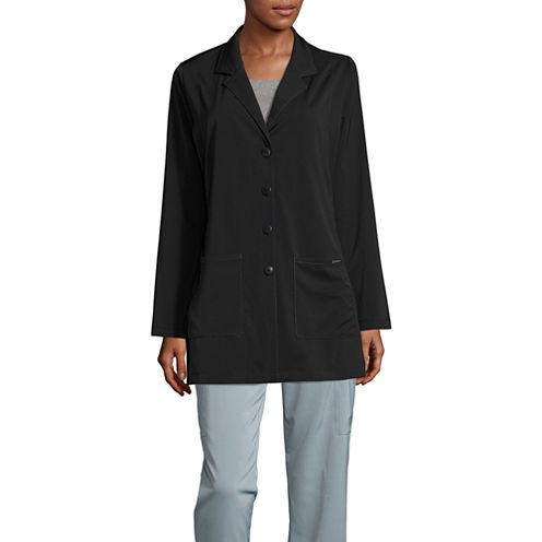 Wonder Wink Womens Long Sleeve Lab Coat-Plus