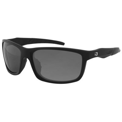 Bobster Virtue Sunglass-Matte Black Frame-Anti-fogSmoked