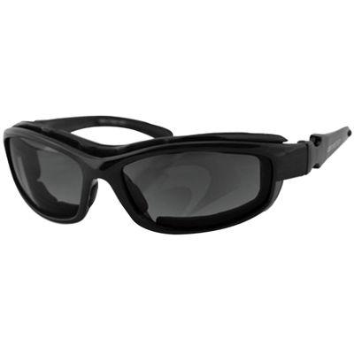 Bobster Road Hog II Convertible Black Frame 4 Lenses