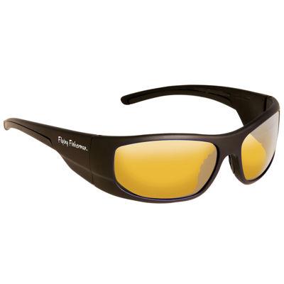 Fly Fish Cape Horn Sunglasses Mt Black Yellow Amber