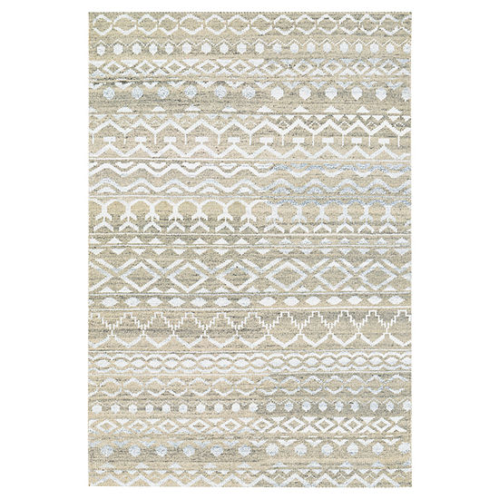 Couristan Purnina Hand Knotted Rectangle Rug