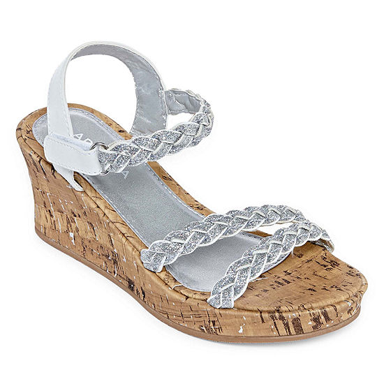 Arizona Utopia Girls Wedge Sandals JCPenney 2a763eb53902