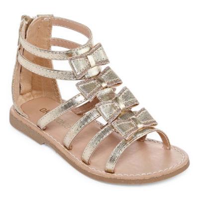 Okie Dokie Lychee Girls Gladiator Sandals - Toddler