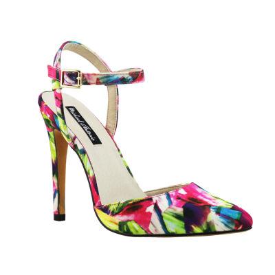 Michael Antonio Liric-Sat Womens Heeled Sandals