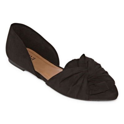a.n.a Womens Cannon Ballet Flats Slip-on Closed Toe
