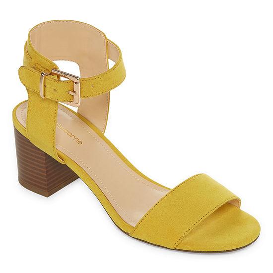 409643d9b7781 Liz Claiborne Womens Eclipse Heeled Sandals