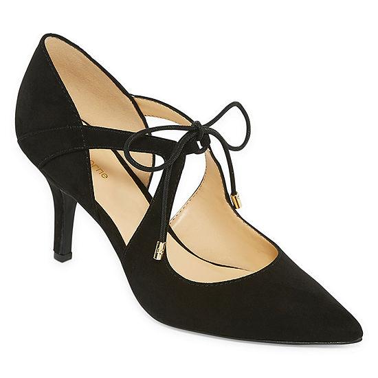 Liz Claiborne Womens Kaylee Pumps Pointed Toe Stiletto Heel