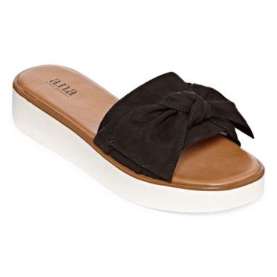 a.n.a Womens Ballard Wedge Sandals