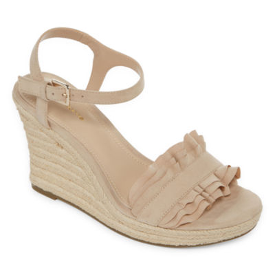 Liz Claiborne Womens Munster Wedge Sandals