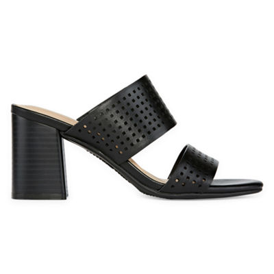 Andrew Geller Eve Womens Heeled Sandals
