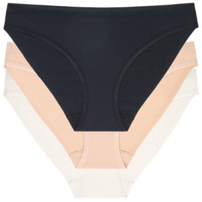 Dorina Jane 3-pc Fully Bonded Satin Contrast Brief