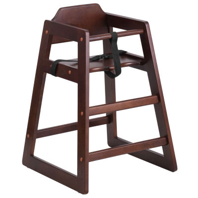 HERCULES Series Stackable Natural Baby High Chair