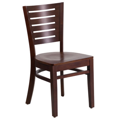 Darby Series Slat Back Wood Restaurant Chair