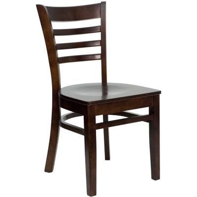 HERCULES Series Ladder Back Wood Restaurant Chair
