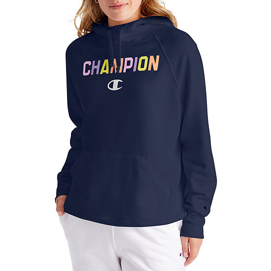 Champion Womens Hooded Neck Long Sleeve Hoodie