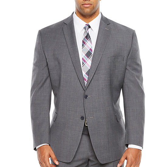 Collection by Michael Strahan Gray Slim Fit Suit Separates