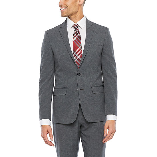 Van Heusen Air Charcoal Slim Fit Suit Separates