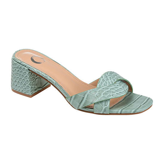Journee Collection Womens Perette Slide Sandals