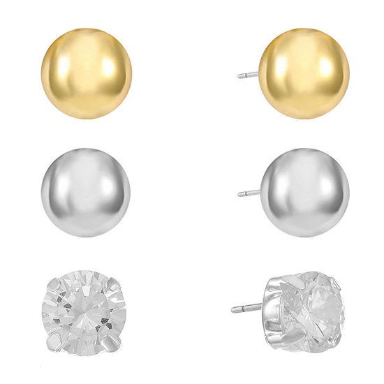 Gloria Vanderbilt 9.4mm Stud Earrings