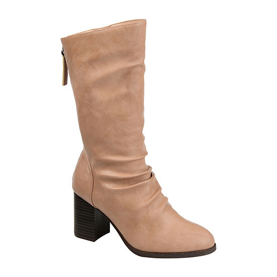 Journee Collection Womens Sequoia Slouch Boots Stacked Heel