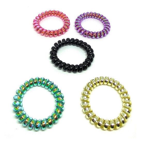 Decree Coil 5-pc. Hair Ties