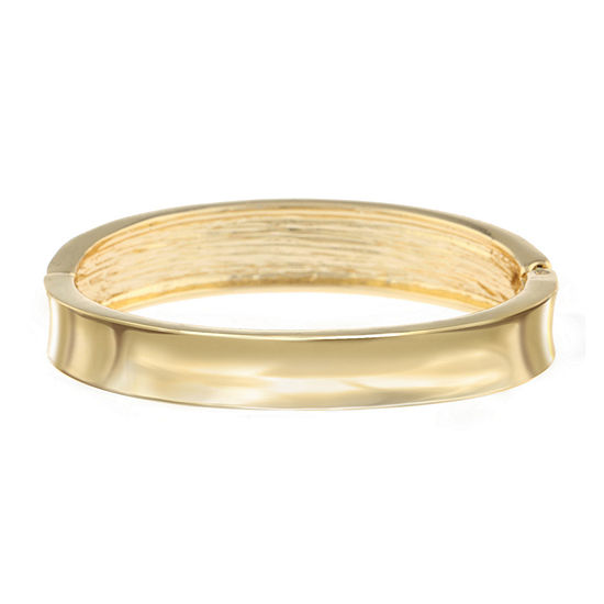 Mixit Gold Tone Solid Bangle Bracelet