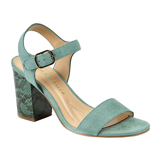 Andrew Geller Womens Fayer Heeled Sandals