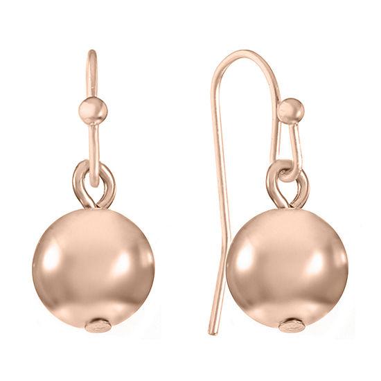 Liz Claiborne Round Drop Earrings
