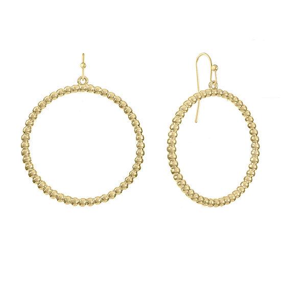 Liz Claiborne Round Hoop Earrings