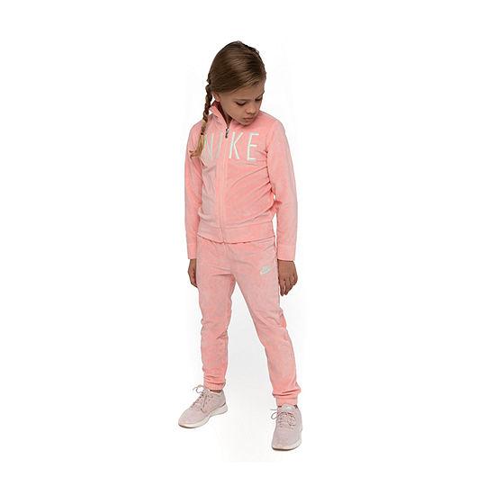 Nike Girls 2-pc. Logo Track Suit - Preschool