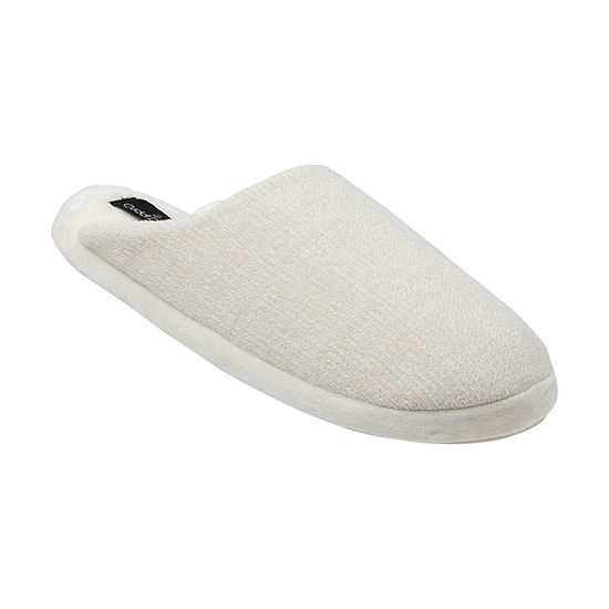 Cuddl Duds Chenille Womens Clog Slippers