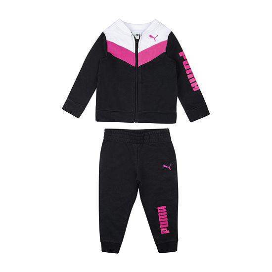 Puma Baby Girls 2-pc. Track Suit