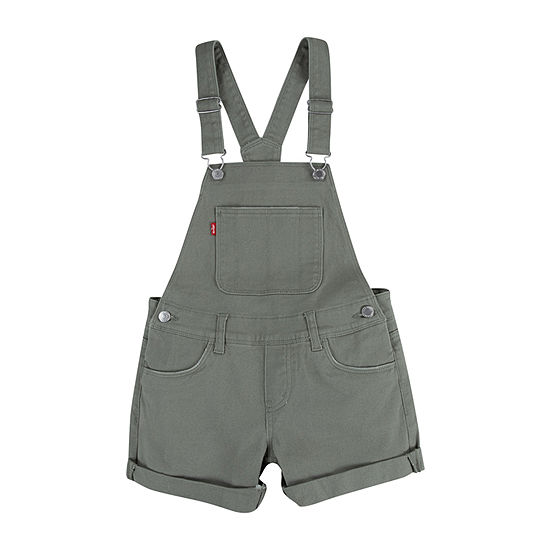 Levi's Toddler Girls Shortalls