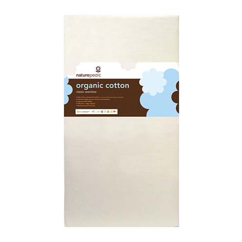 Naturepedic® Organic Cotton Classic 150 Seamless Crib Mattress