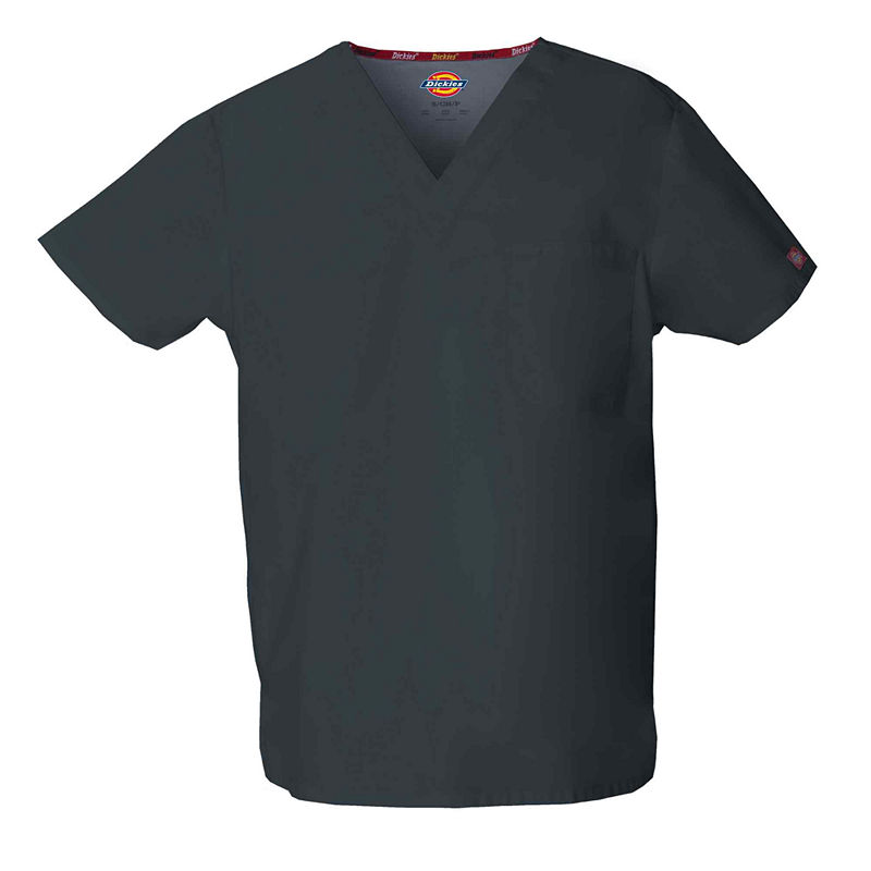 Dickies V-Neck Unisex Scrub Top plus size,  plus size fashion plus size appare