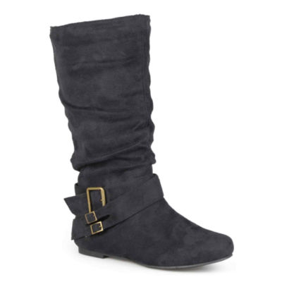 Journee Collection Shelley Slouch Boots - Wide Calf