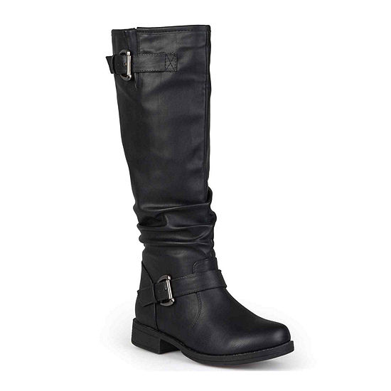 Journee Collection Womens Stormy Wide Calf Riding Boots