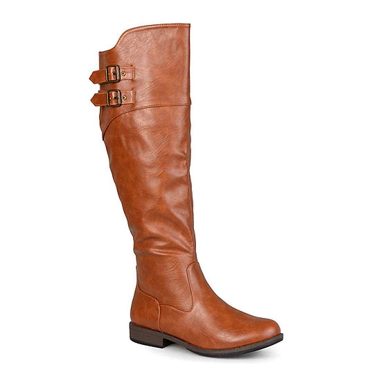 Journee Collection Tori Knee High Riding Boots Wide Calf Jcpenney