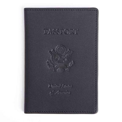 Royce® Debossed RFID Blocking Passport Jacket