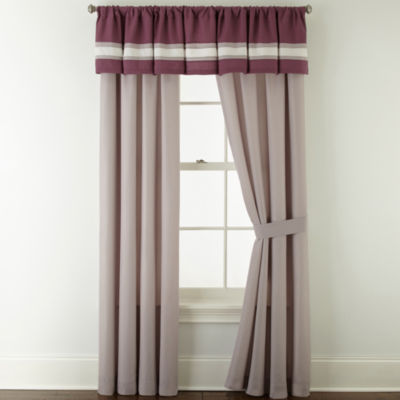 Home Expressions™ Melise 2-Pack Rod-Pocket Curtain Panels