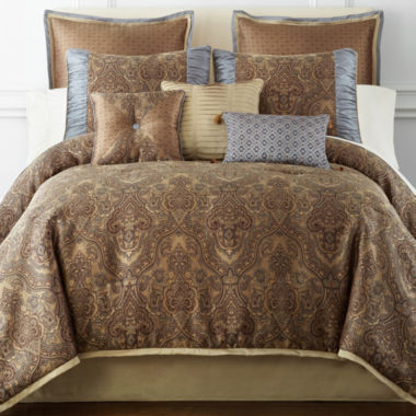 jcpenney.com | Home Expressions™ Savoy 7-pc. Jacquard Comforter Set & Accessories